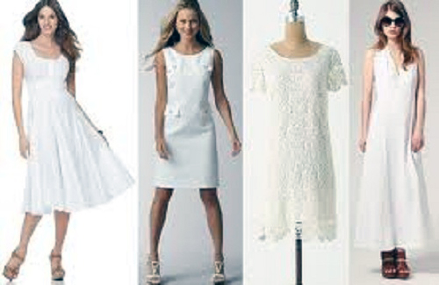 White Summer Dresses For Women For Sale