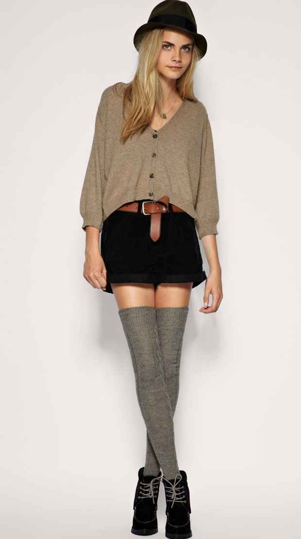 Winter Fashion Trends 2011 Over The Knee Socks For Winter 2011 Fashion Gallery
