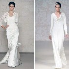 Winter Wedding Dresses Lace Sleeves Pictures