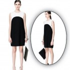 Women Straight Dress Black And White Pictures