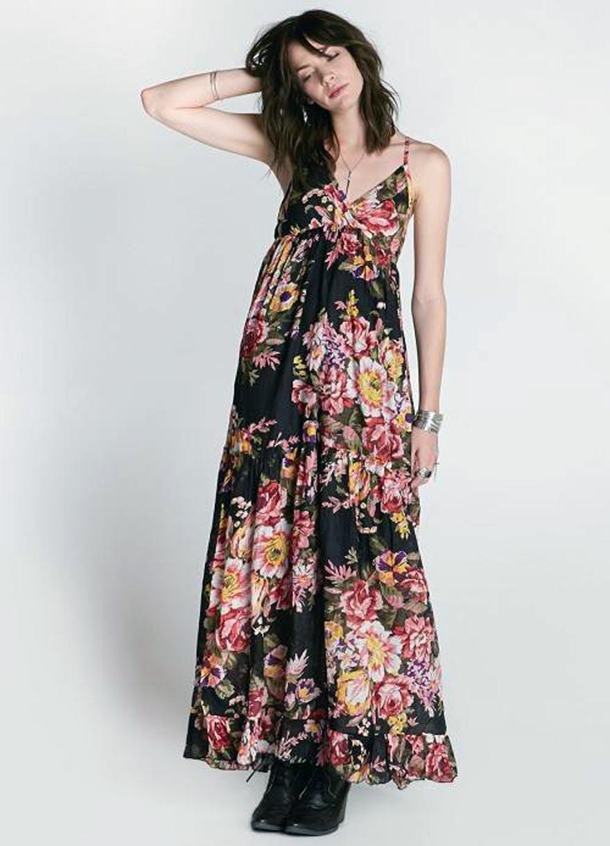 Womens Floral Maxi Dresses Ideas