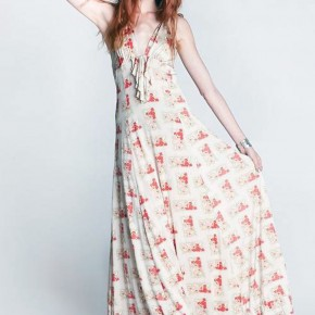 Womens Floral Maxi Dresses Images Pictures