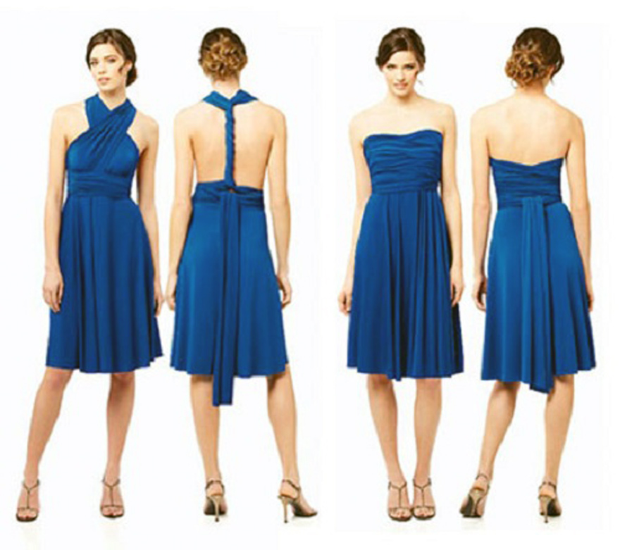 Wrap Over Style Dresses Images