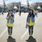 Yellow Dress With Jean Jacket Designs Pictures