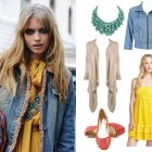 Yellow Dress With Jean Jacket Ideas Pictures