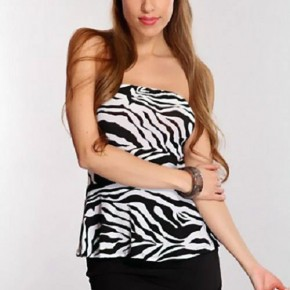 Zebra Dresses For Teenagers Casual Pictures