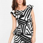Zebra Print Cocktail Dress Online Pictures