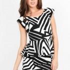 Zebra Print Cocktail Dress Online Pictures