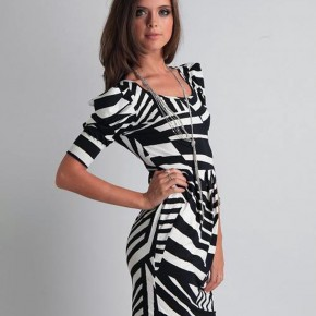 Zebra Print Cocktail Dress Sale Pictures