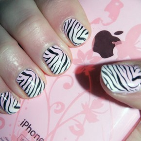 Zebra Print Nails Best Pictures