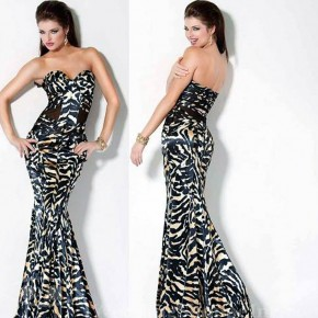 Zebra Prom Dresses 2013 Pictures